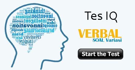 Tes IQ Verbal (soal variasi)
